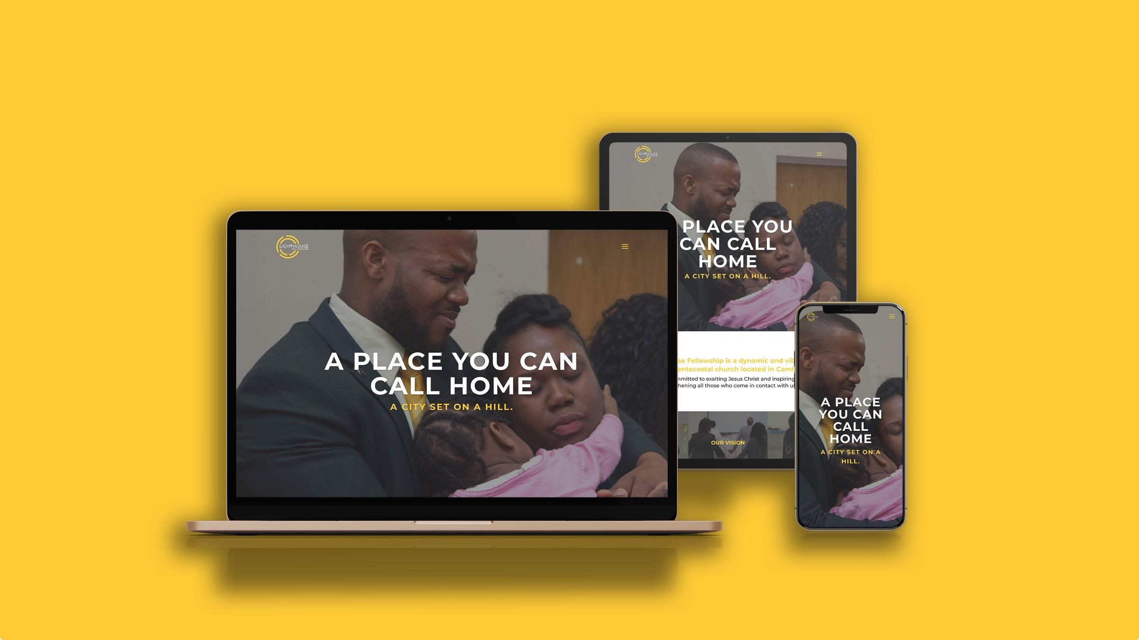 Lighthouse Fellowship Responsive Web Design
